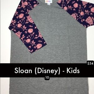 LuLaRoe Disney Sloan new with tags!